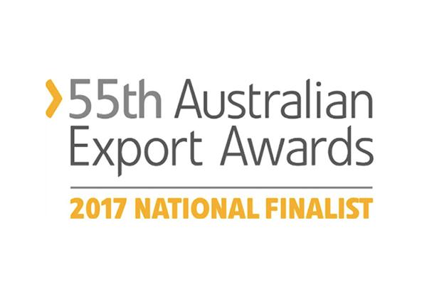55th Australian Export Awards 2017 National Finalist